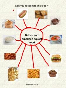 British and American food1